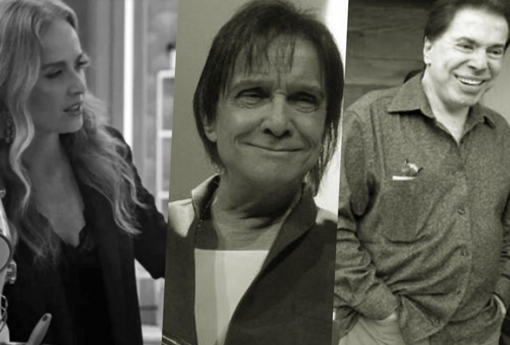 Angélica, Roberto Carlos e Silvio Santos receberam previsões de famosa vidente (Foto reprodução)