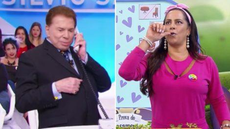 Silvio Santos toma providências sobre situação de Silvia Abravanel (fotos: reprodução/SBT)