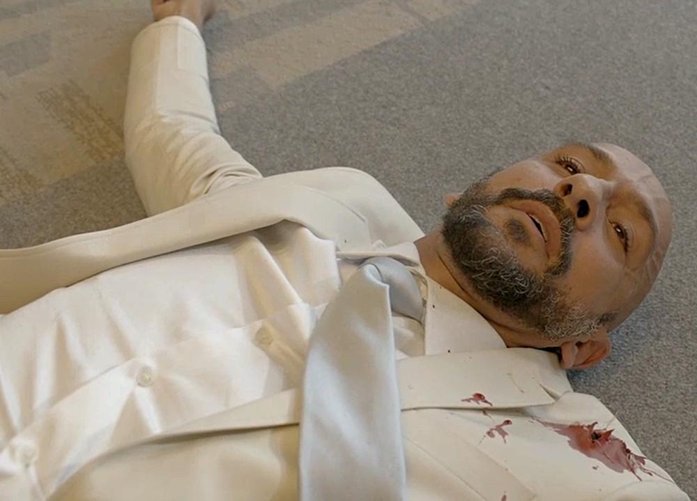 Álvaro é baleado em evento na novela Amor de Mãe - Foto: Divulgação