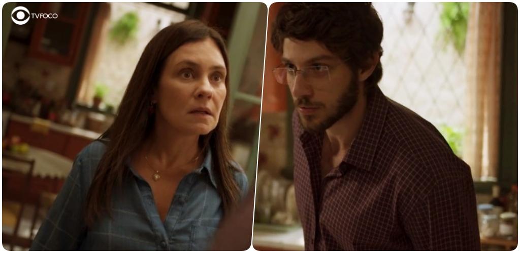 Foto montagem do site TV Foco de Thelma e Danilo da novela Amor de Mãe