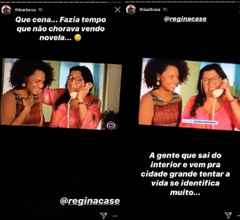 Thiaguinho se emocionou ao lembrar o passado (Foto: Reprodução/ Instagram)