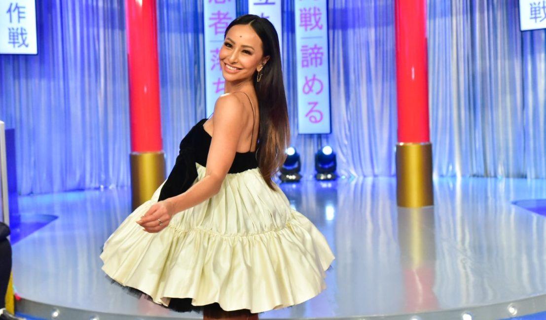 Sabrina Sato no estúdio do Domingo Show. Fotos: Leo Franco / AgNews