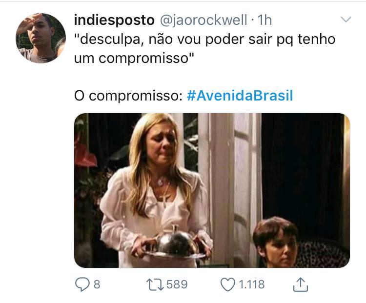 Sucesso de 2012, novela exibe cena histórica e leva público ao delírio na Globo (Imagem: Twitter)