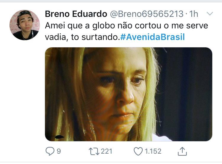 Avenida Brasil exibe cena histórica e leva público ao delírio na Globo (Imagem: Twitter)
