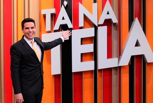 Tá Na Tela, no comando de Luiz Bacci (Foto: reprodução/Record)