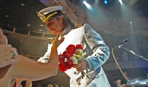 Roberto Carlos no cruzeiro Emoções (Foto: Reprodução)