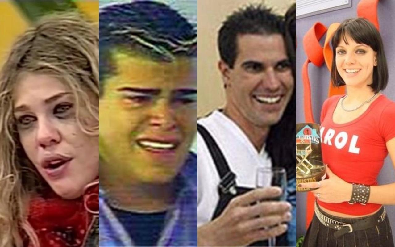 Os vencedores do reality show Casa dos Artistas (Foto: reprodução)