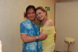 Vera Fischer e Roberto Carlos (Foto: Thyago Andrade)