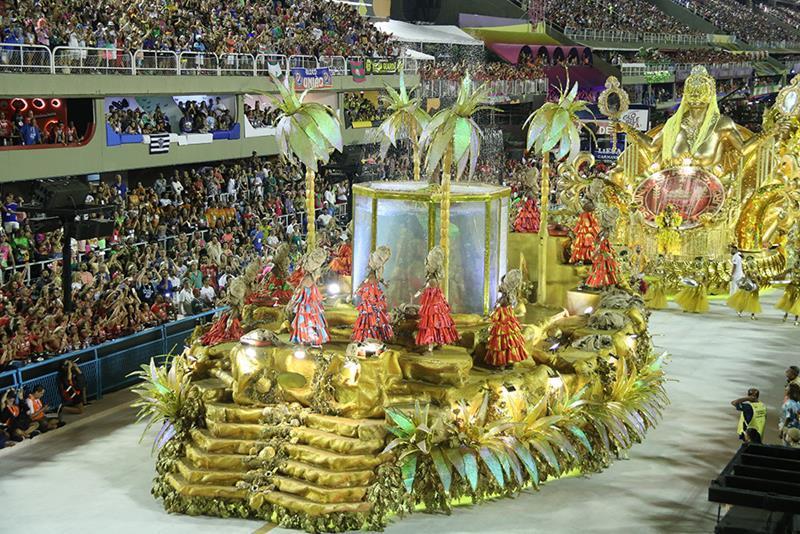 Viradouro foi a grande campeã do carnaval do Rio de Janeiro (Foto: Reprodução)