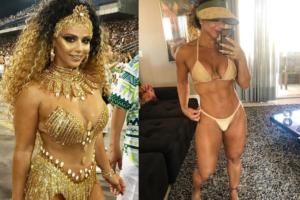 Viviane Araújo fala sobre expor seu corpo com fantasia de carnaval (Foto: Reprodução)