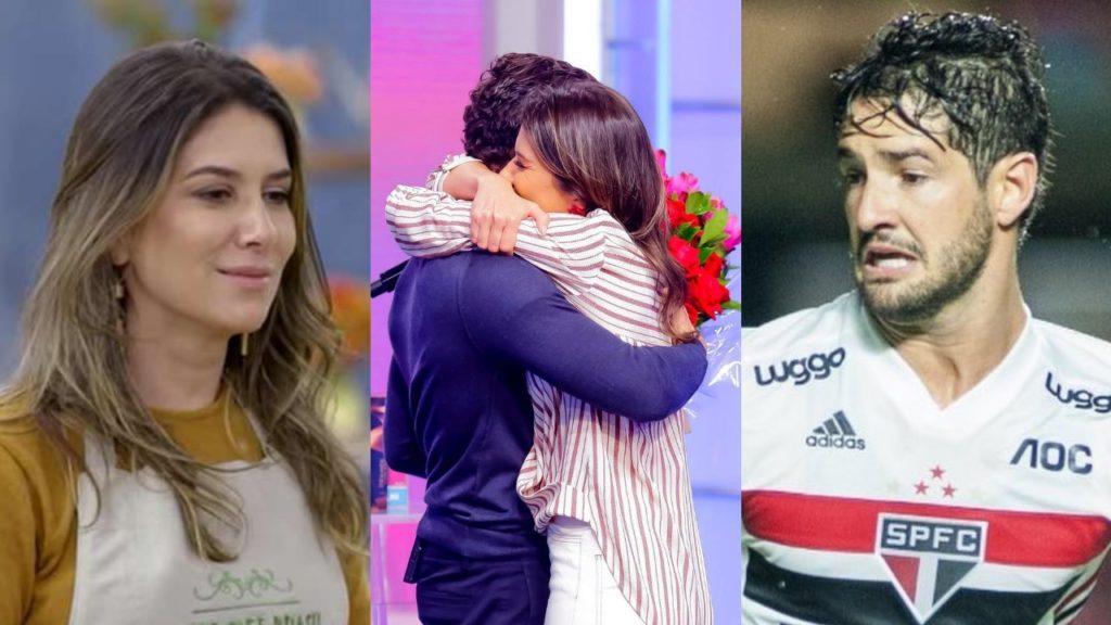 Alexandre Pato e Rebeca Abravanel (Foto: Reprodução/Instagram/Montagem TV Foco)