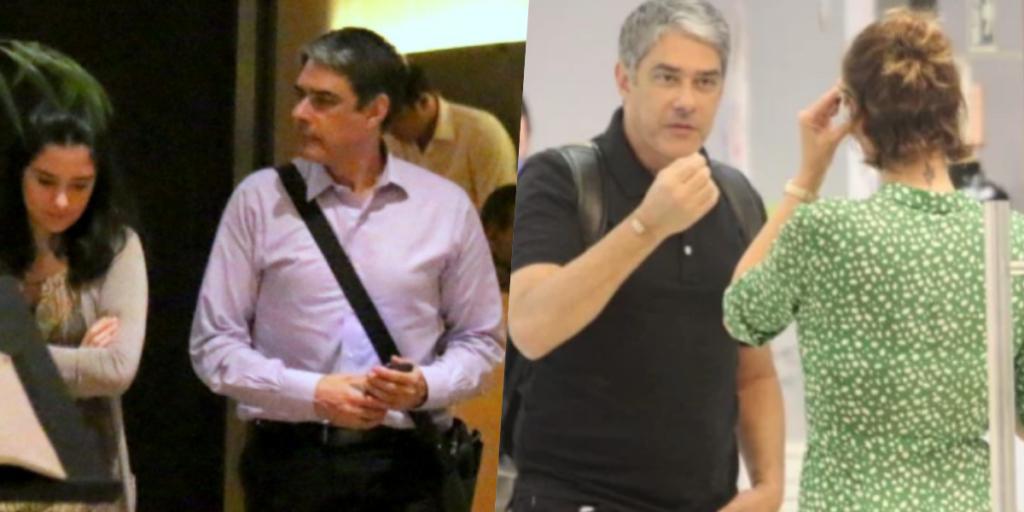 William Bonner do Jornal Nacional da Globo esteve envolvido em duas situações que deram o que falar (Foto reprodução)