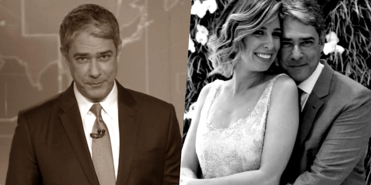 O famoso âncora do Jornal Nacional, William Bonner e a apresentadora da Globo, Fátima Bernardes reatarão casamento (Foto reprodução)