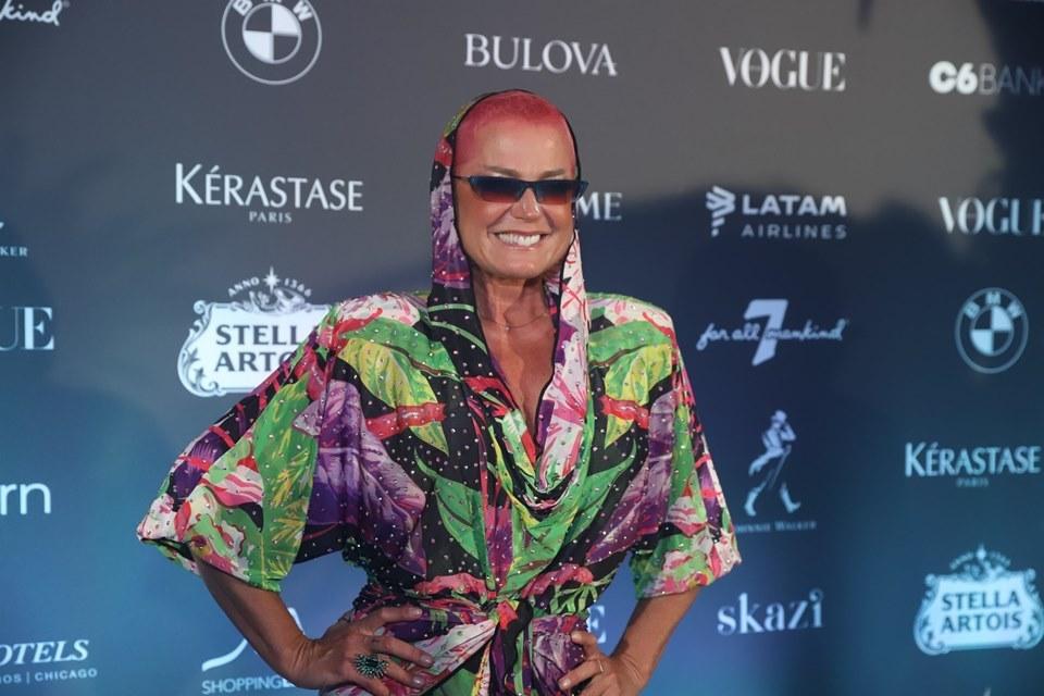 Xuxa no Baile da Vogue 2020 (Foto: AgNews)