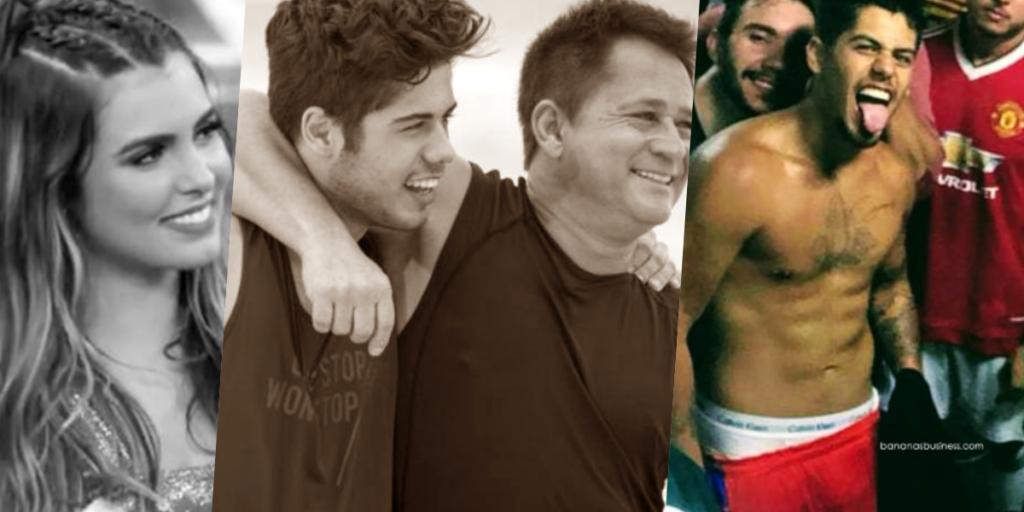 Cantor e filho de Leonardo, Zé Felipe, comentou rumores que deixou a noiva por ter ficado com outro homem (Foto montagem: TV Foco)