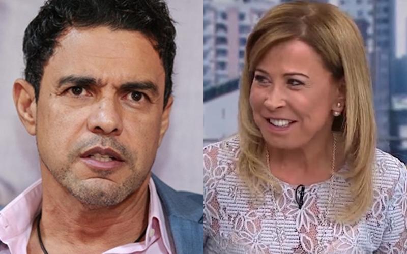 O ex-casal Zilu e Zezé Di Camargo (Reprodução)