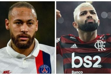 Gabigol e Neymar (Foto: Reprodução)