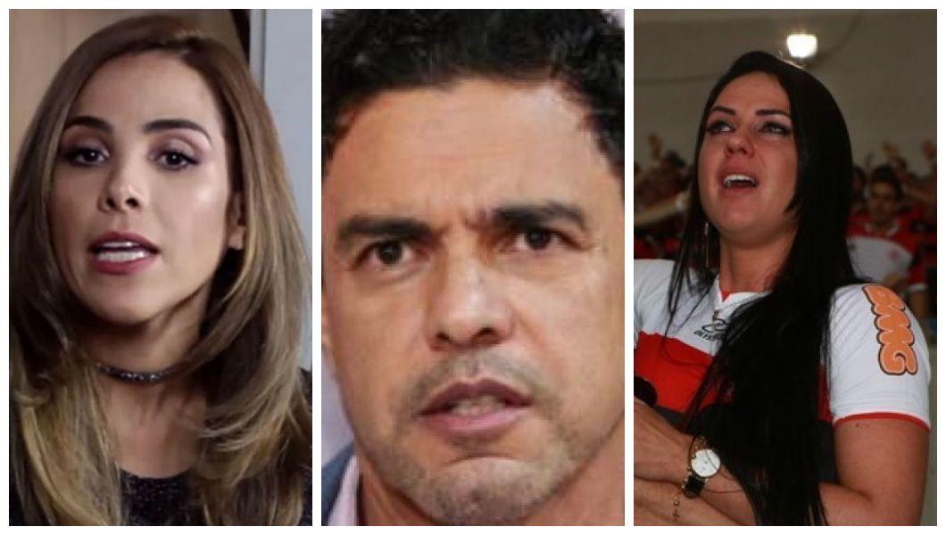 Wanessa Camargo, Zezé Di Camargo e Graciele Lacerda (Foto: Reprodução)