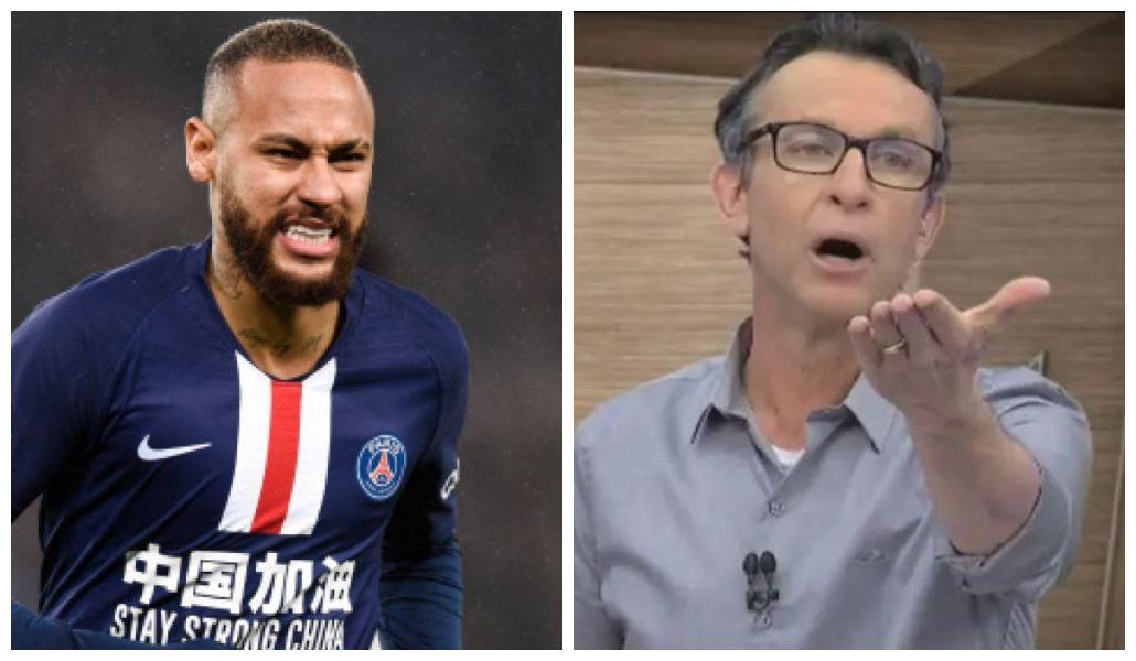 Neymar e Neto (Foto: Reprodução)