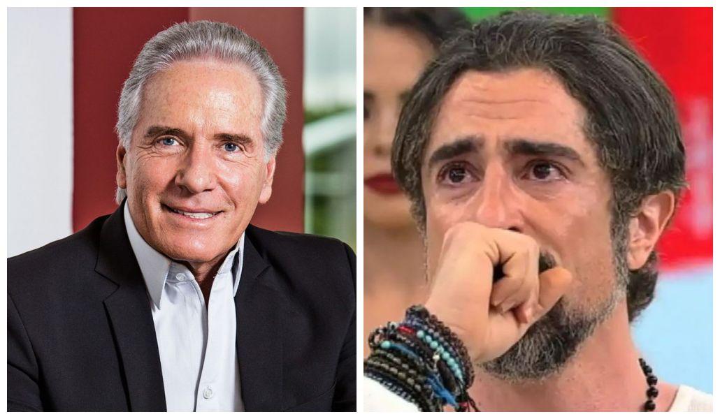Roberto Justus e Marcos Mion (Foto: Reprodução)