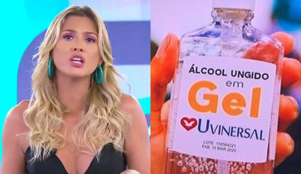Lívia Andrade foi suspensa do Fofocalizando (Foto: Reprodução)
