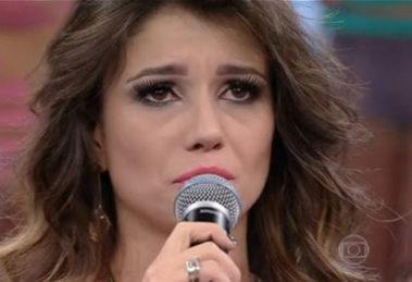 Paula Fernandes foi deixada para trás (Foto: Globo)