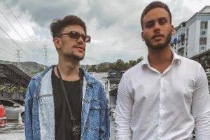 Saulo Poncio ao lado de Jonathan Couto, alvo de uma polêmica anos atrás (foto: reprodução/Instagram)