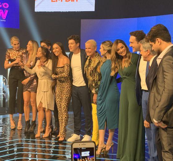 Apresentadores da nova programação dominical da Record (foto: TV Foco)