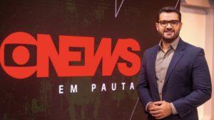 Marcelo Cosme é um dos principais apresentadores da GloboNews (Foto: Divulgação/Globo)