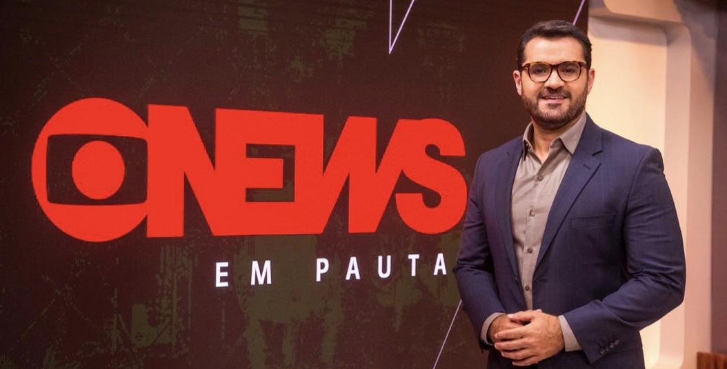 Marcelo Cosme é um dos principais apresentadores da GloboNews na atualidade (foto: divulgação/Globo)