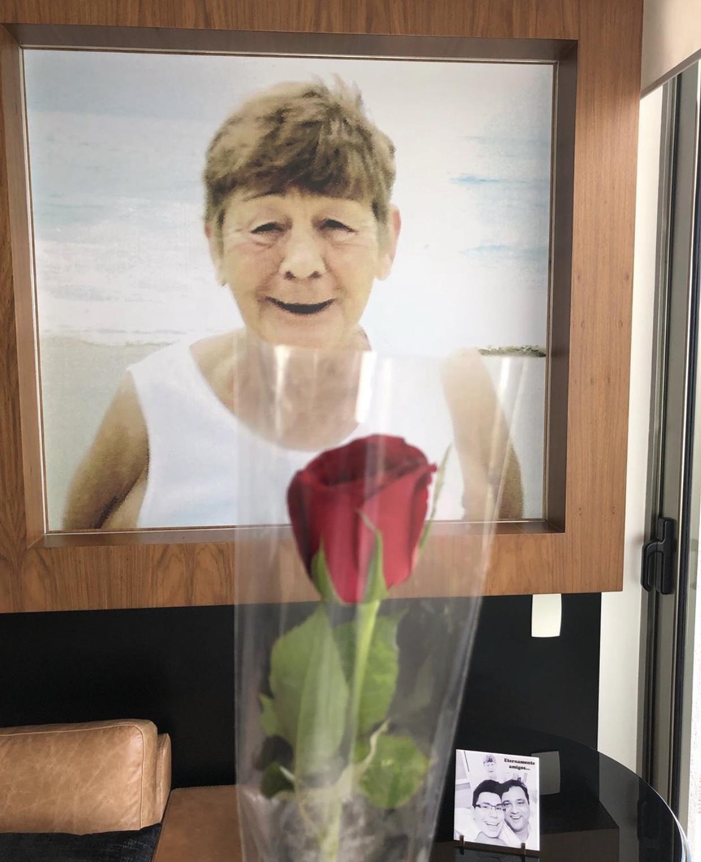 Geraldo Luís homenageia Olga Moreira, sua mãe (foto: reprodução/Instagram)