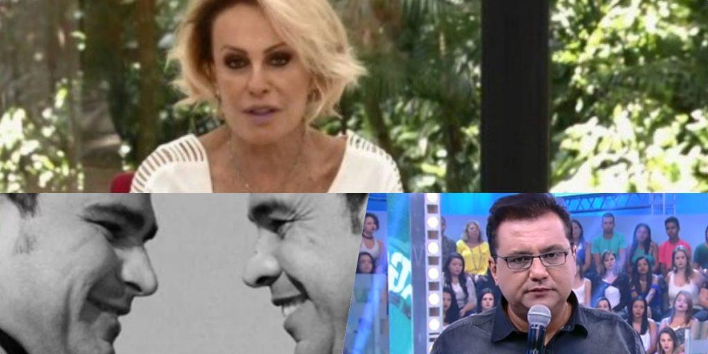 Sensitiva fez previsões para Ana Maria, Zezé Di Camargo e Geraldo Luís (Foto montagem: TV Foco)
