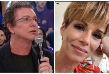 Ana Furtado e Boninho (Foto: Reprodução)