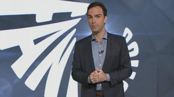Tadeu Schmidt é o apresentador do Fantástico (foto: reprodução/TV Globo)