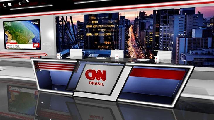 Cenário da CNN Brasil em São Paulo 2
