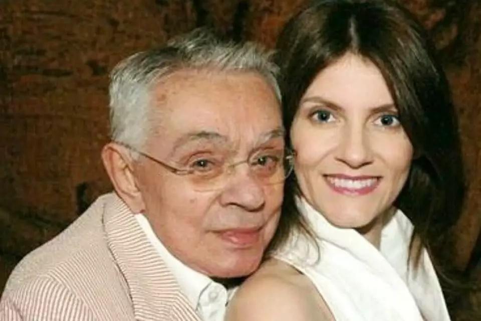 Chico Anysio e Malga di Paula foram casados durante 14 anos (Foto: Reprodução)