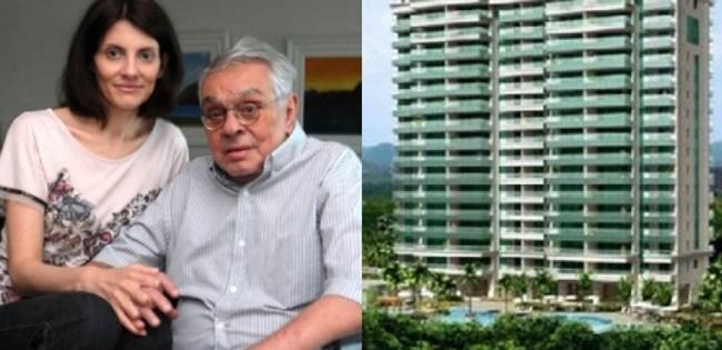 Viúva de Chico Anysio herdou apartamento milionário com quatro quartos (Foto: Montagem/TV Foco)