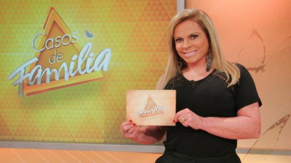 Christina Rocha apresenta nas tardes do SBT o Casos de Família (Foto: Divulgação)