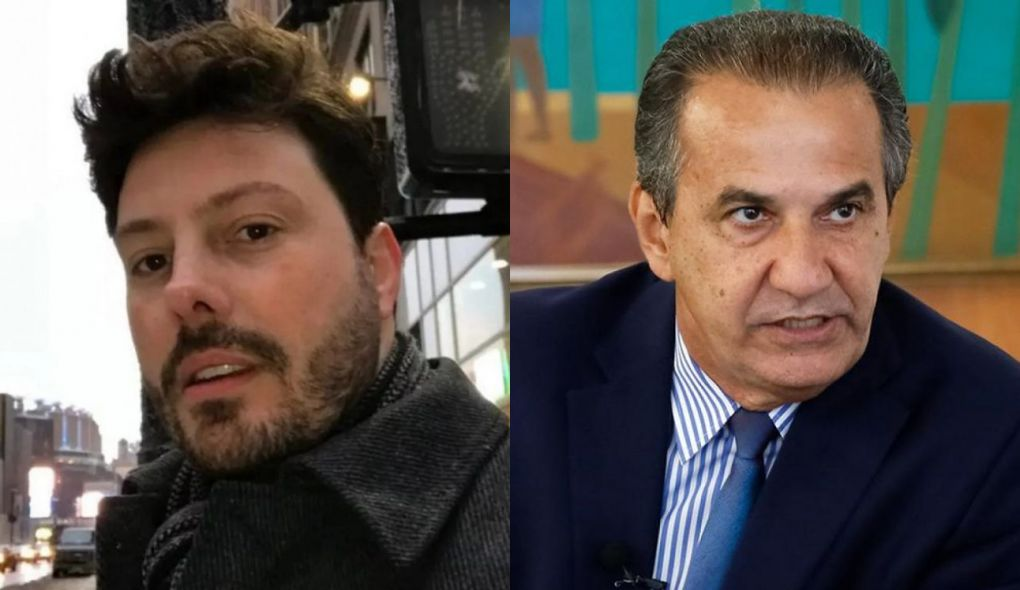 Danilo Gentili detonou Silas Malafaia em sua rede social (Foto: Montagem/TV Foco)
