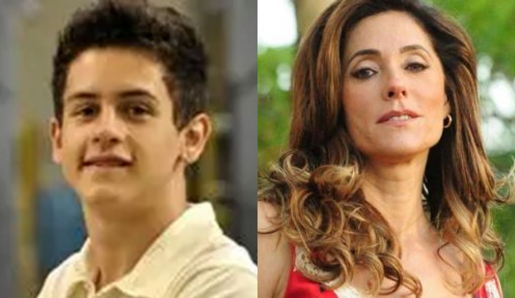 David Luca e Christiane Torloni interpretaram mãe e filho em Fina Estampa (Foto: Reprodução)