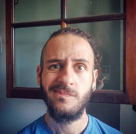 David Lucas atualmente está com 25 anos de idade e é psicólogo (Foto: Reprodução)