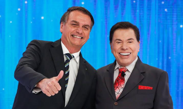 Governo de Jair Bolsonaro colocou a emissora de Silvio Santos a beira da falência (foto: reprodução/SBT)