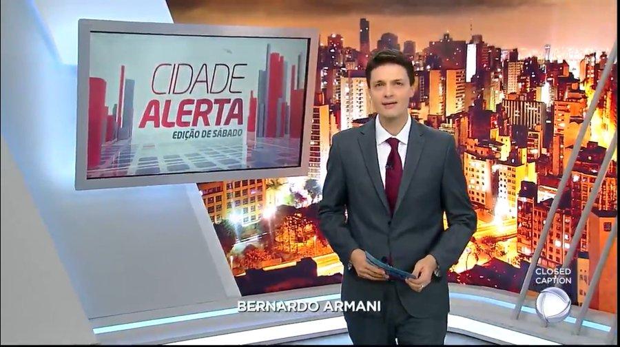 Novo apresentador do Cidade Alerta aos sábados - Foto: Reprodução