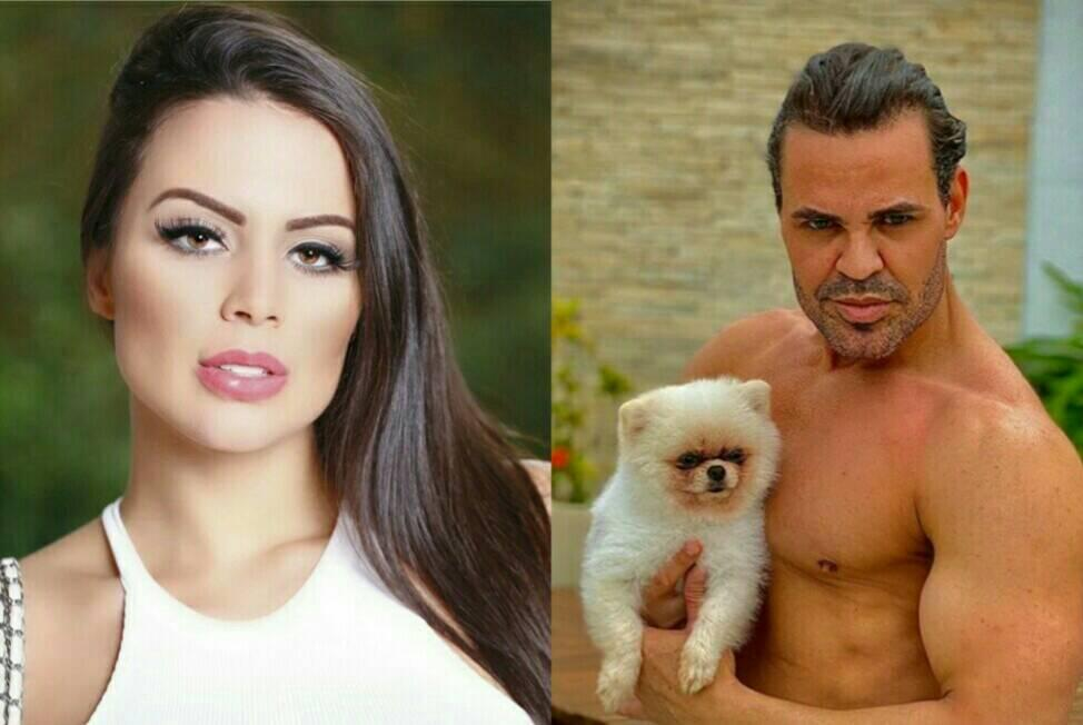 Victória Villarim ex-noiva de Eduardo Costa (Foto: Reprodução/ Montagem)