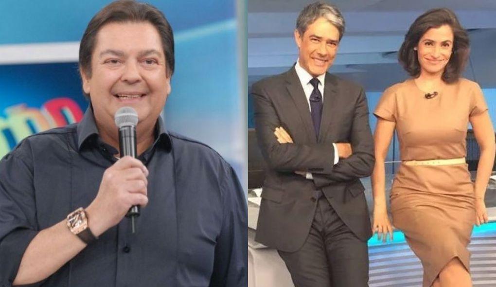 Domingão do Faustão e Jornal Nacional tem um dos comerciais mais caros da TV brasileira (Foto: Reprodução)