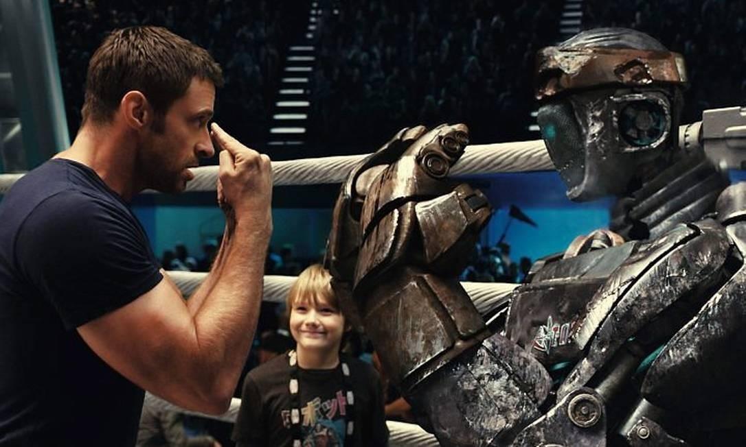 Globo vai exibir o filme Gigantes de Aço na Sessão da Tarde de hoje (Foto: Reprodução)