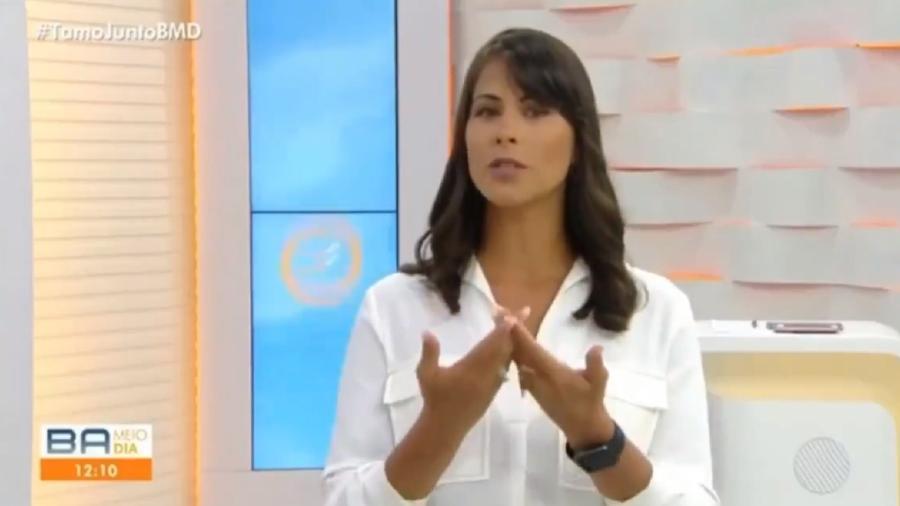 Apresentadora da Globo