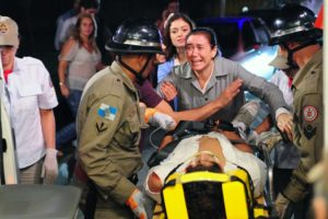 Griselda se desespera com acidente de Antenor - Foto: Reprodução