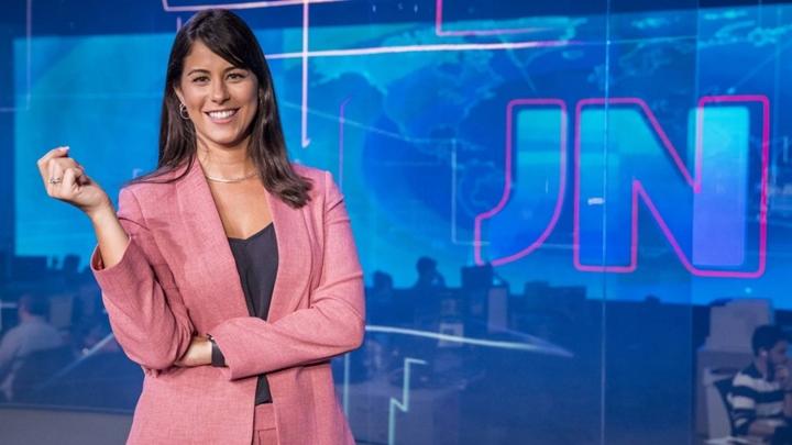 Apresentadora Jessica Senra já comandou o Jornal Nacional. (Foto: Divulgação)