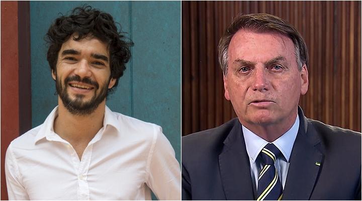Caio Blat assinou impeachment de Jair Bolsonaro. (Foto: Montagem/Divulgação)